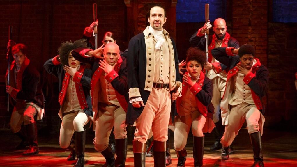 Hamilton Musical @ Ed Mirvish Theatre